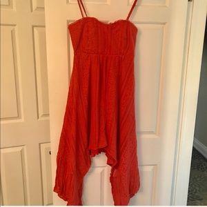 Free People summer spaghetti straps dress
